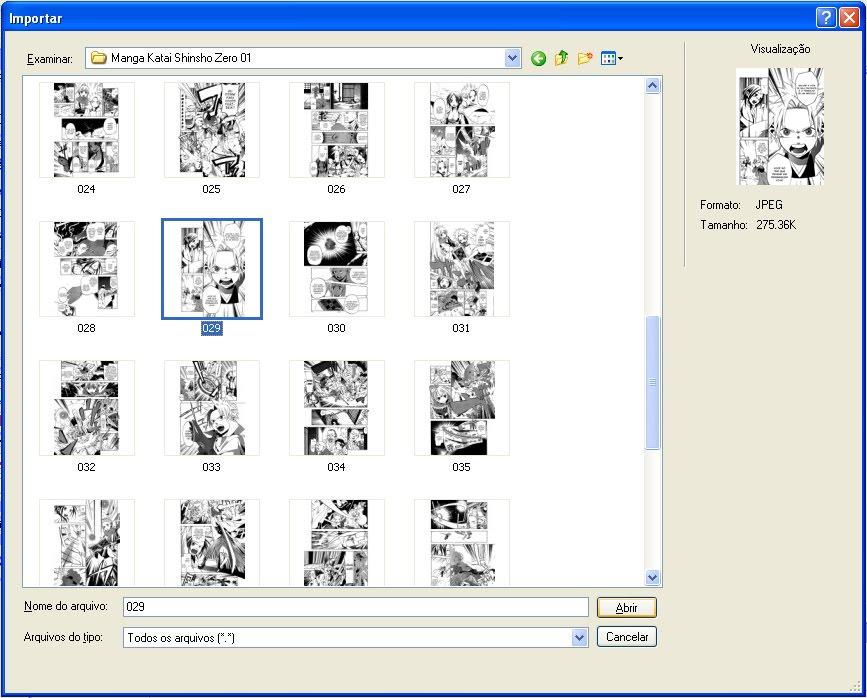 Como personalizar as páginas para 500x690 Fw002