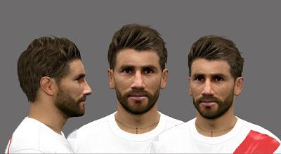 PES 2016 Leonardo Ponzio (River Plate) Face by Fede