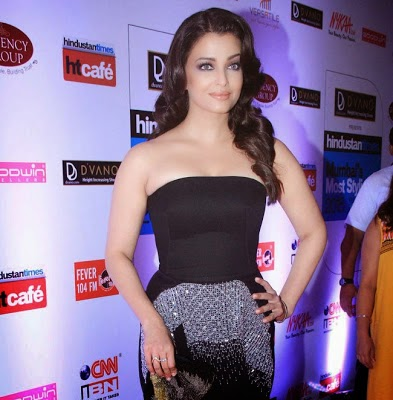 Aishwarya Rai Stills at HT Mumbai Most Stylish Awards 2015