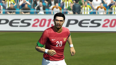 Download Patch 2.5 PES 2013 Terbaru Timnas Indonesia