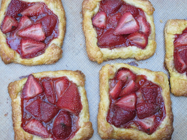 Huckleberry Individual Strawberry Tarts
