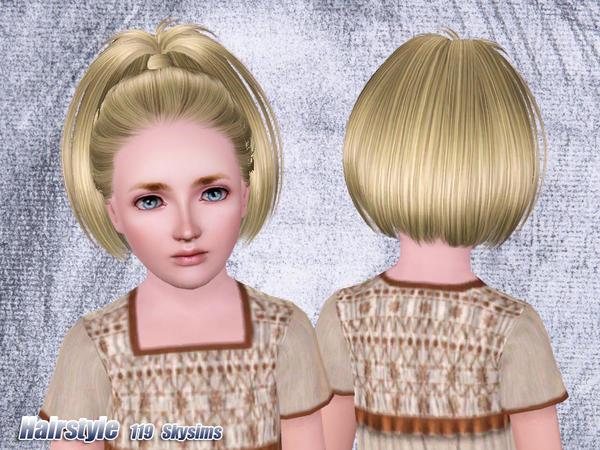 Extrêmement Sims 3 M addict: Sims 3 - Coupe de cheveux Bambin, Enfant GRATUIT  LV01