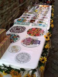 mercatino a Montegridolfo (Rimini)
