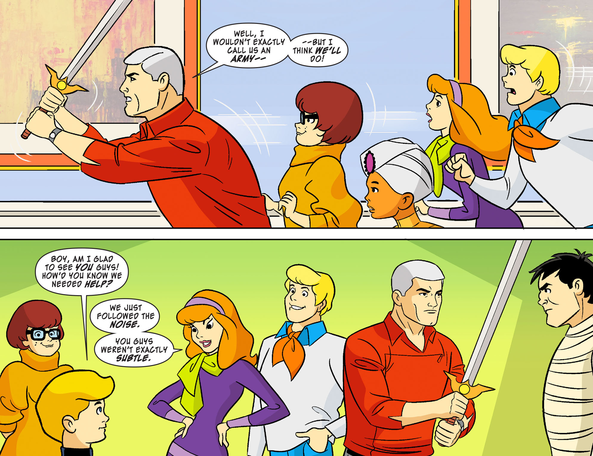 Read online Scooby-Doo! Team-Up comic -  Issue #19 - 14