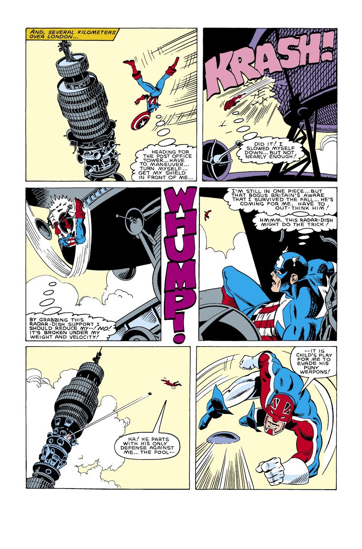 Captain America (1968) Issue #305 #233 - English 17