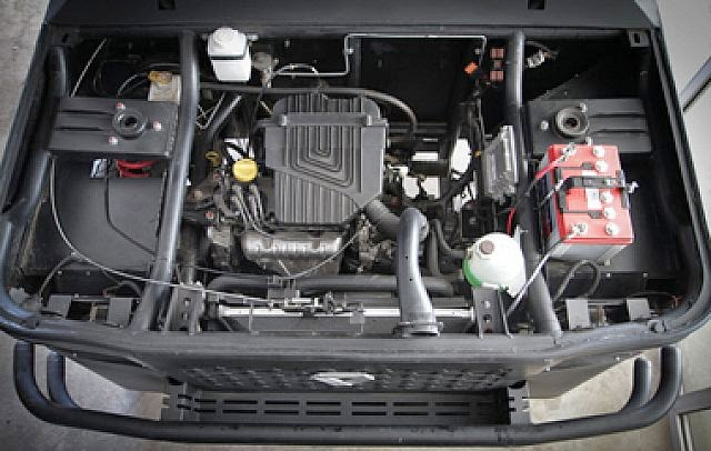 1.6 litrelik motor