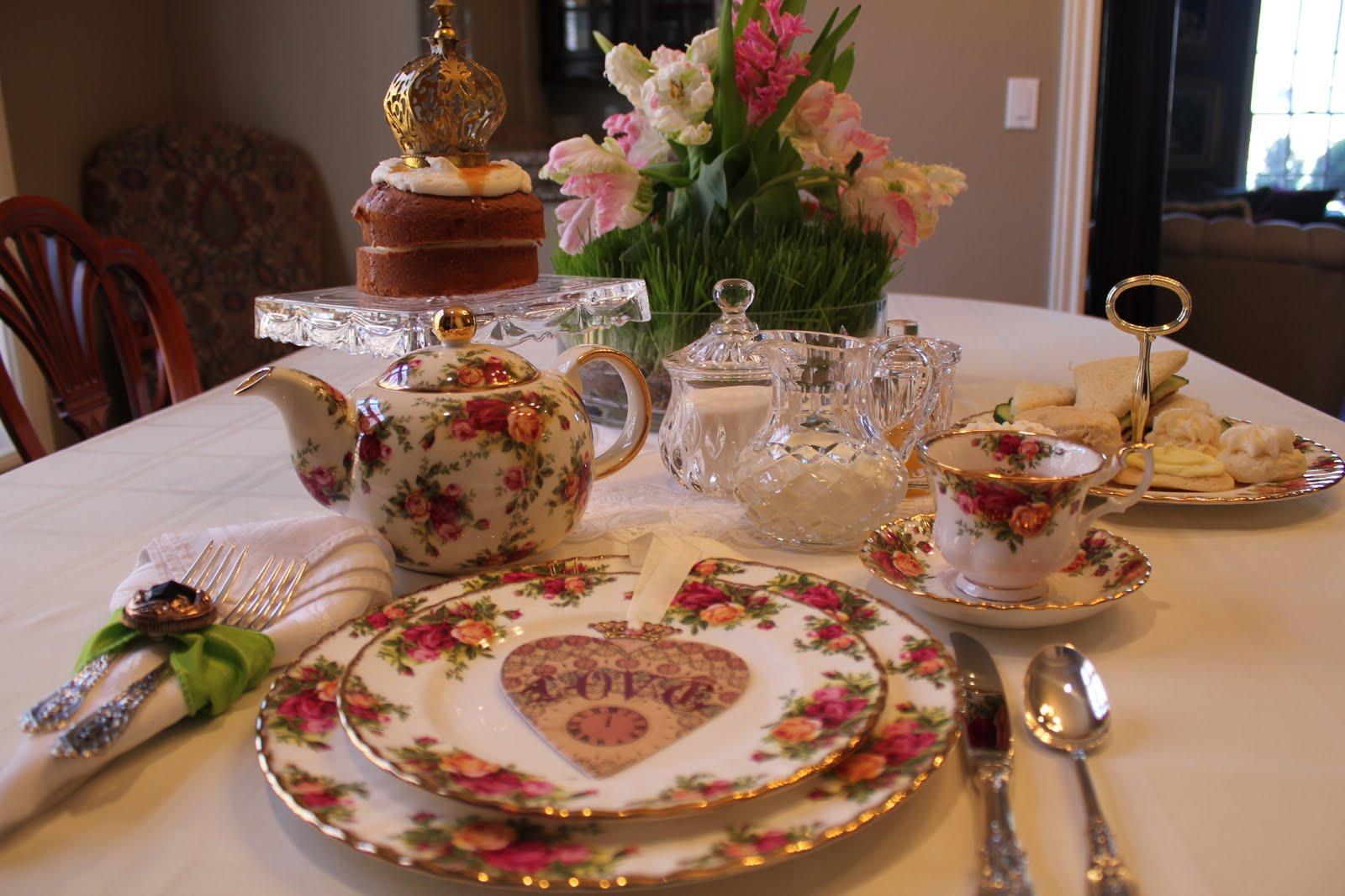 A Little Cuppa Tea Royal Wedding Tea Party
