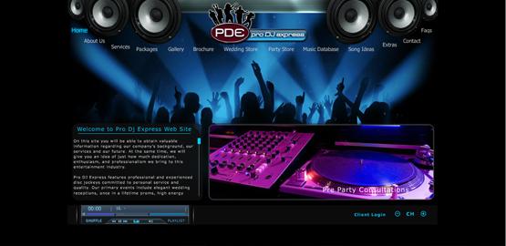 Cutting Edge Designs Printing Website Web Design