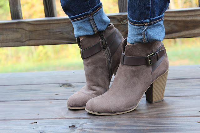 Rack Room Booties, Buckle Booties