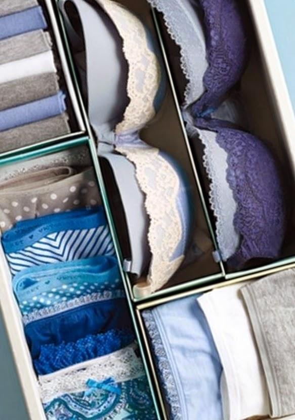 Organizar t organizar el caj n de la ropa interior - Organizar ropa interior ...
