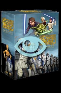 Achetez Star Wars : The Clone Wars saisons 1 à 5