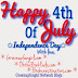 **VACATION July 4-6* Happy 4th of July Everyone!