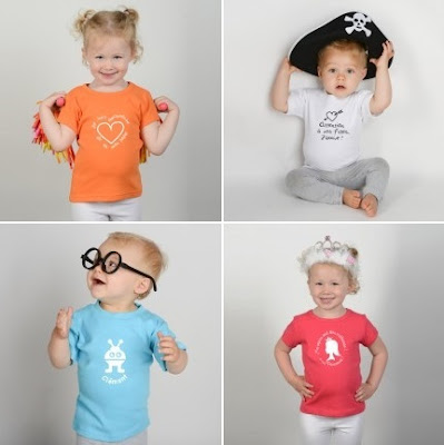 tshirt pour bébés