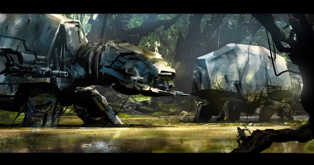 Combat operation in swampy terrain
