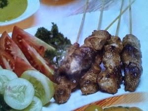 Sate Ayam Saus Mayones