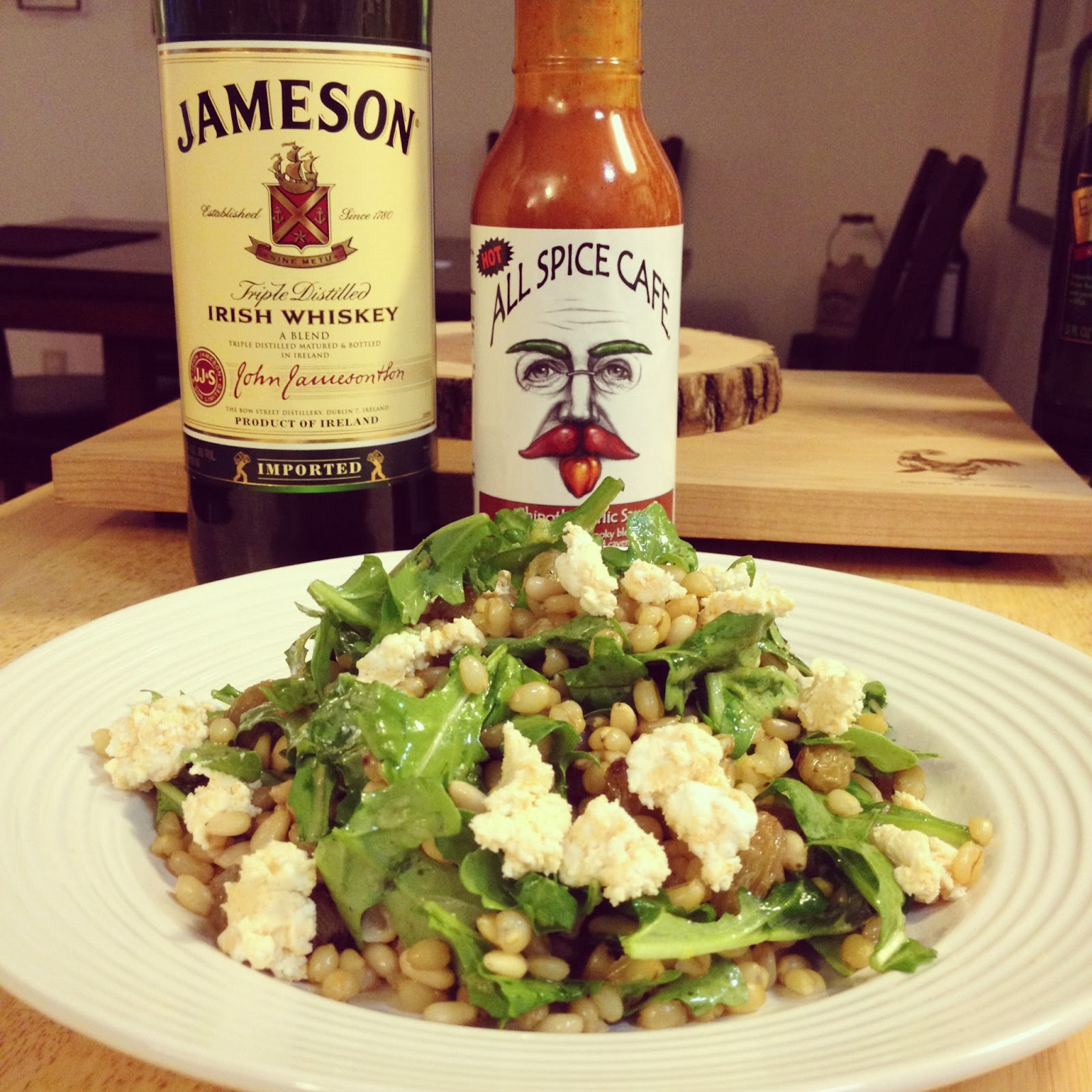 The Lush Chef: Whiskey Wheat Berry Salad