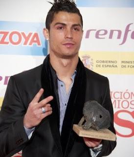 Ronaldo & Presiden Atletico Saling Cemo'oh