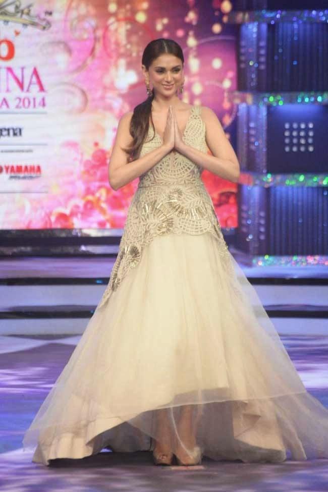 Aditi Rao Hydari at fbb Femina Miss India 2014