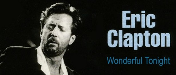 Wonderful Tonight Guitar Chords - Eric Clapton