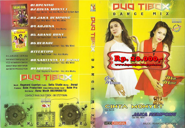 Duo Tibox - Cinta Monyet (Album Dance Mix)