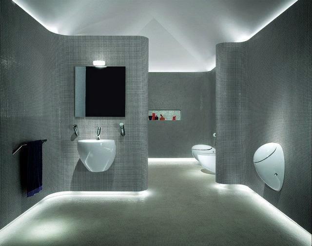 unique wall paint ideas bathroom