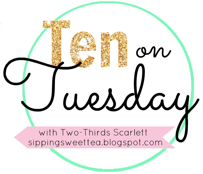 Ten on Tuesday link button