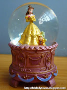 Presenting a Belle snowglobe as she appears in the ballroom scene from .