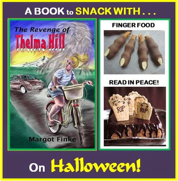 A BOOK to SNACK with on HALLOWEEN