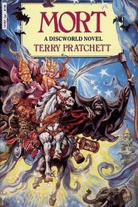 Cover of Terry Pratchett's Mort novel