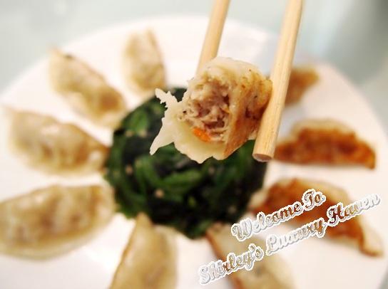 cp chicken gyoza dumpling review