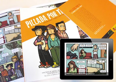 Cómic 'Pillada por ti'