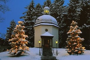Silent Night Holy Night Chapel in Oberndorf