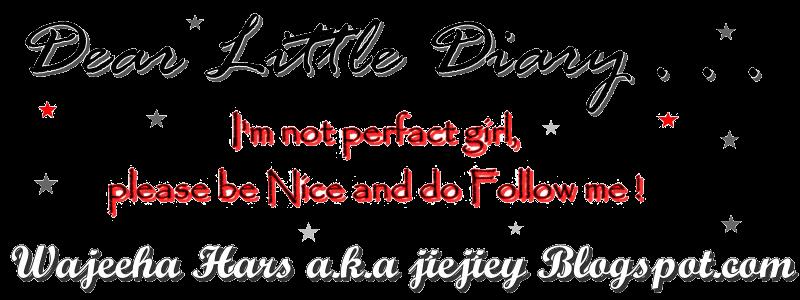 ❤Dear Little Diary❤
