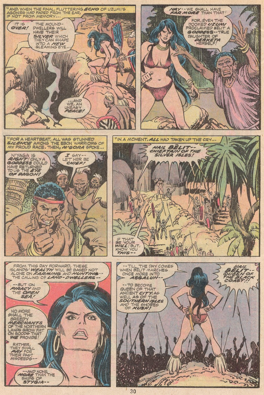 Conan the Barbarian (1970) Issue #59 #71 - English 21