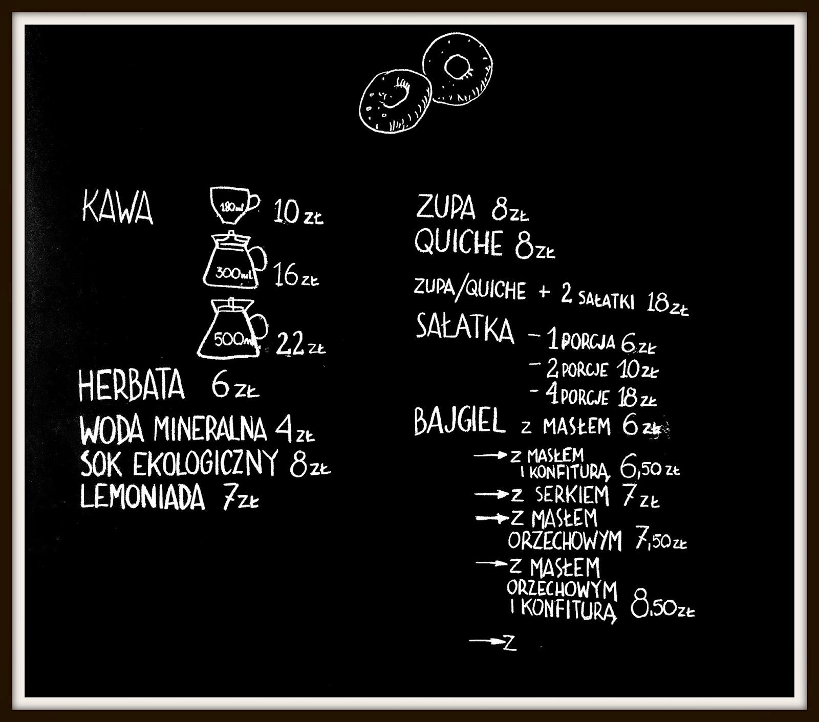 Massolit Bakery&Cafe, Smoleńsk 17, menu