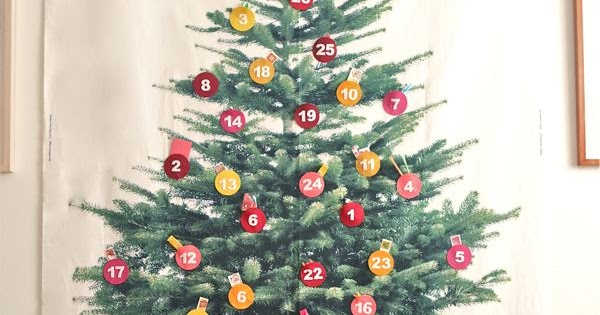 Giant Advent Calendar Ideas : Be different act normal giant christmas tree advent