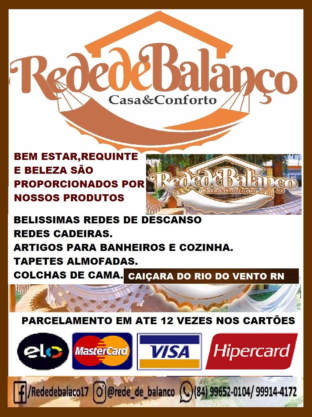REDE DE BALANÇO CASA E CONFORTO