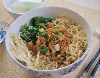 Resep Membuat Mie Ayam Bangka Belitung