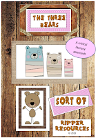 http://www.teacherspayteachers.com/Product/Critical-Literacy-The-Three-Bears-Sort-Of-867053