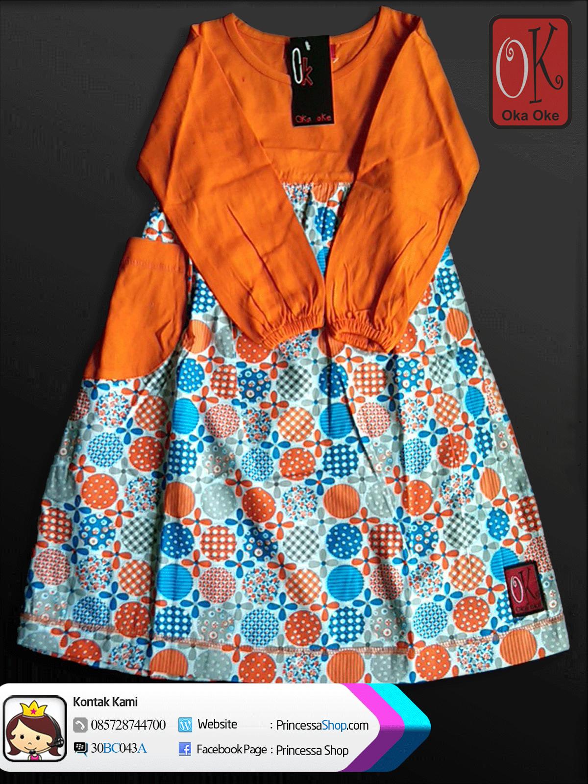 Baju Gamis Produksi Konveksi Oka Oke