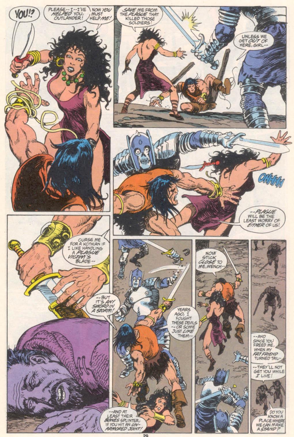 Conan the Barbarian (1970) Issue #255 #267 - English 22