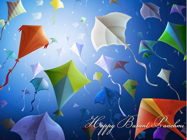 Happy Basant Panchami 2014 HD Images and Pictures kites