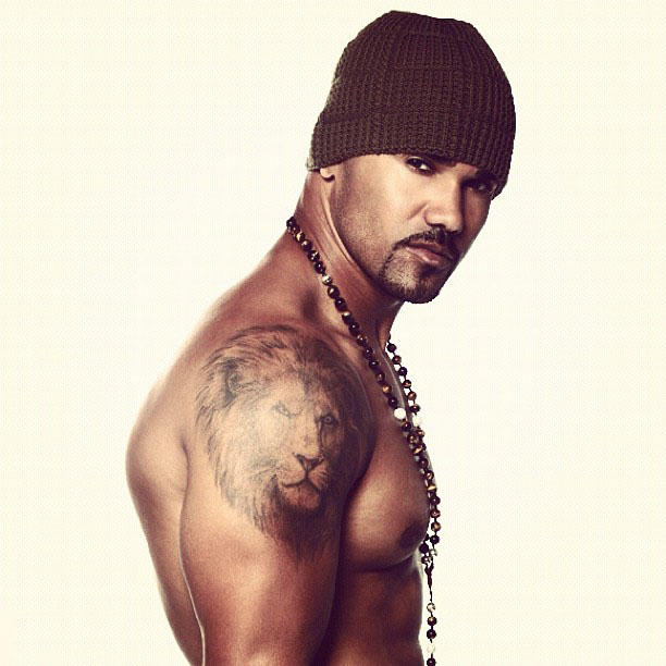 The gallery for kirsten vangsness 2013 for Shemar moore back tattoo