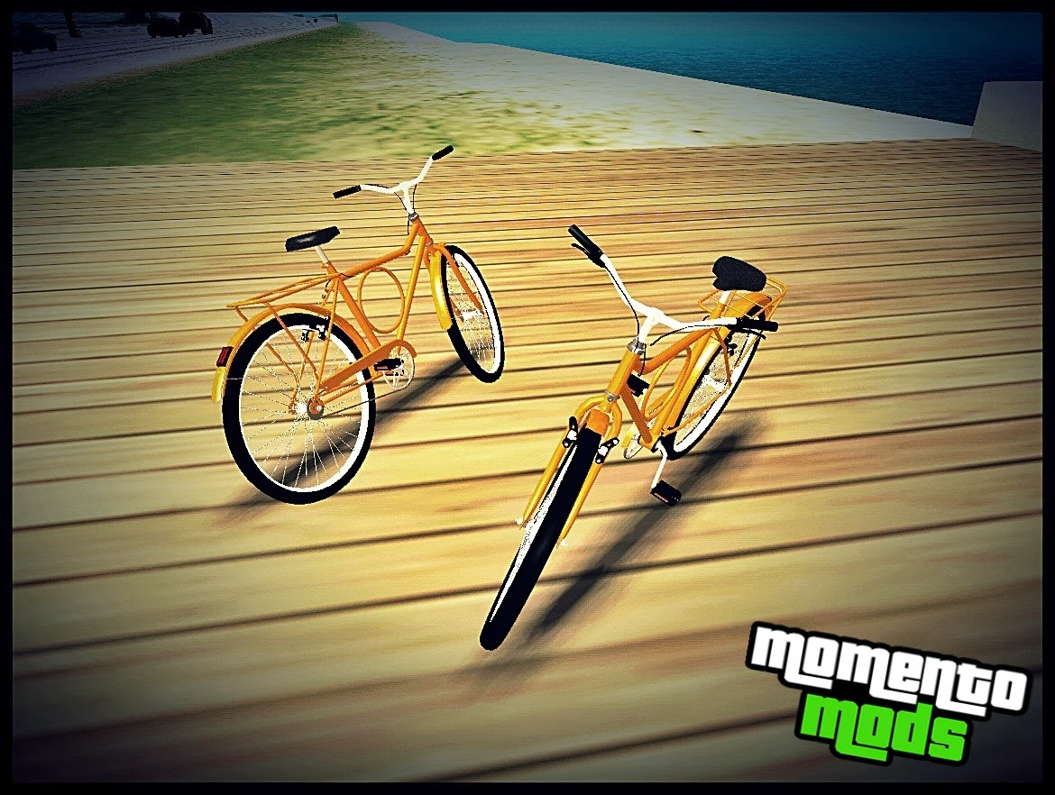 GTA SA - Bike Caloi Barra Forte