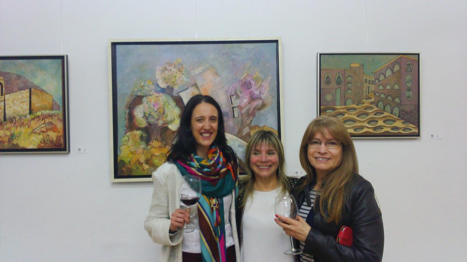 Beatriz Alvarez Calvo, Clara Tengonoff y Judith Cuba