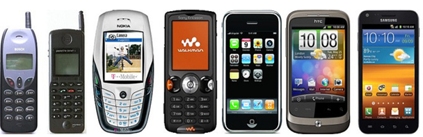 The Evoluting History of the Cell Phone