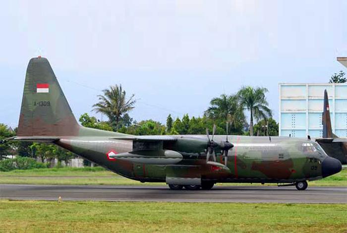 Hercules Pesawat angkut Militer TNI AU