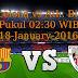 Barcelona vs Ath. Bilbao 18-January-2016