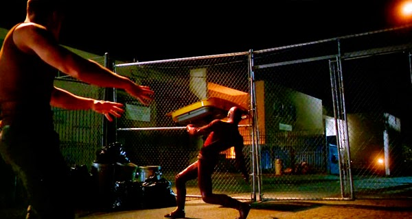 Escena de lucha en The Flash 1x06