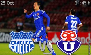 Ver Online Emelec vs U de Chile en VIVO (Copa Sudamericana) LIVE 25 de Octubre (Emelec+vs+U+de+Chile+en+VIVO)